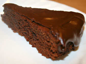6 Dark Chocolate Cake
